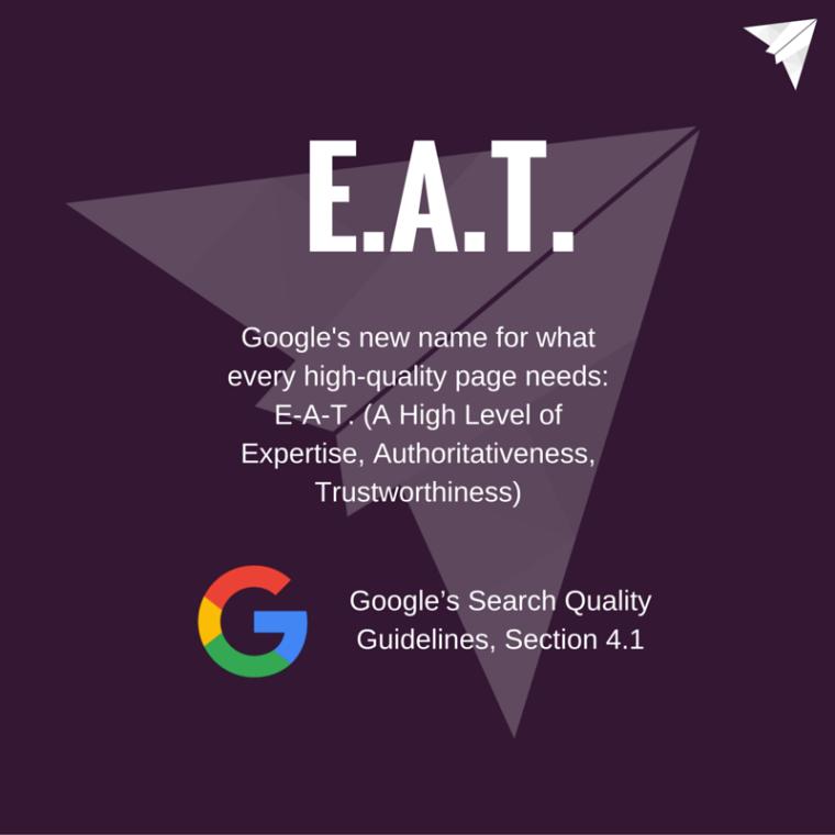 Google - E.A.T.
