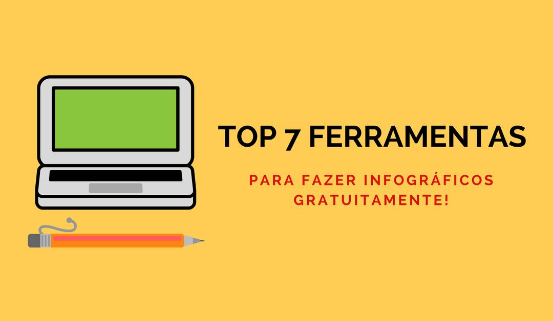 Top 7 ferramentas para criar infográficos gratuitamente!